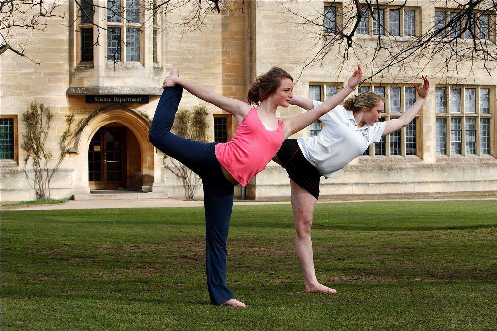Nauka angielskiego z jogą fot. materiały prasowe