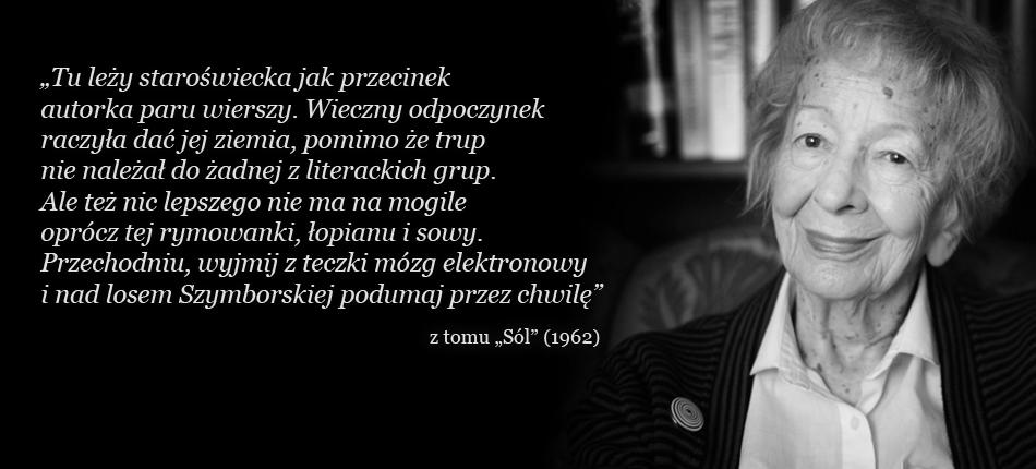 Wisława Szymborska Nie żyje Dyskusja Ogólna Fora