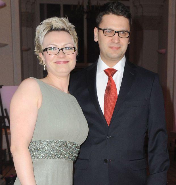 Mariusz Kamiński, Anna Kamińska, bal dziennikarzy