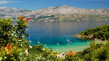 Chorwacja camping, Dalmacja - wyspa Brac