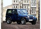 JEEP Wrangler 91-96, rok produkcji 1987, hardtop, widok przedni prawy, samoch�d 3-drzwiowy, kolor niebieski jasny