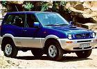NISSAN Terrano II 93-00, rok produkcji 1997, kombi, widok przedni prawy, samoch�d 3-drzwiowy, kolor niebieski jasny