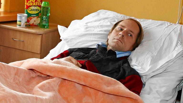 Włodzimierz N. w zakopiańskim szpitalu
