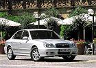 HYUNDAI Sonata 01-05, rok produkcji 2001, sedan, widok przedni prawy, samoch�d 4-drzwiowy, kolor silver grey