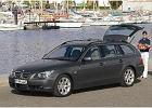 BMW Seria 5 Touring [E61] 04-07, rok produkcji 2004, kombi, widok przedni prawy, samoch�d 5-drzwiowy, kolor szary ciemny