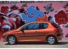 PEUGEOT 206 98-03 1998 coupe lateral left - Zdj�cia