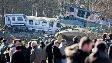 Akcja ratunkowa po zderzeniu pociągów