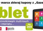 """Tablet 7"""" z ekranem pojemno�ciowym multi-touch za 369 z�"""