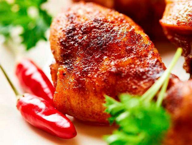 Ostry kurczak w miodzie