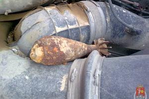 Wybuchowy ładunek jechał na ciężarówce