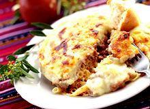 Pastisio - zapiekane rigatoni z mięsem mielonym - ugotuj