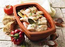 Bia�a ryba w warzywach - ugotuj