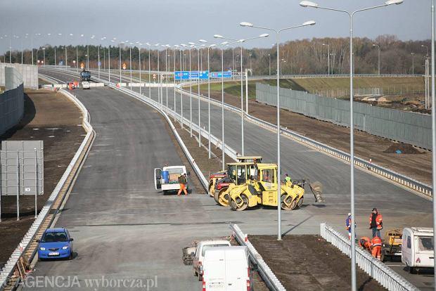 Autostrada A1 na odcinku Pyrzowice - Piekary �l�skie gotowa. Otwarcie przed Euro?