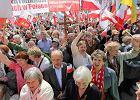 Marsz ojca Rydzyka: kilka tysi�cy protestuj�cych