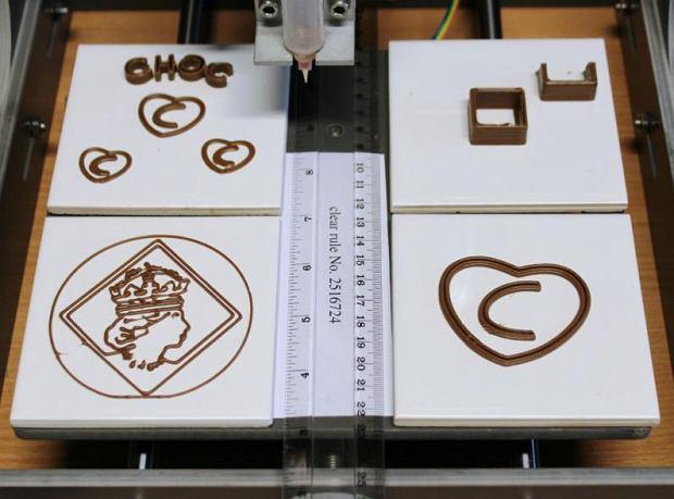 W sprzedaży - pierwsza drukarka 3D do czekolady