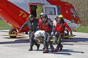 Tragiczny wypadek na Rysach: dwoje turyst�w nie �yje