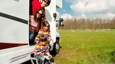 Samochód może być środkiem transportu, a nawet wakacyjnym domem.