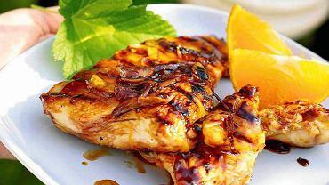 Kurczak z mandarynkami