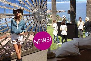 """Anja Rubik i Sasha Knezevic tu� przed wielk� premier� pisma """"25 Magazine"""" w Cannes [ZDJ�CIA]"""