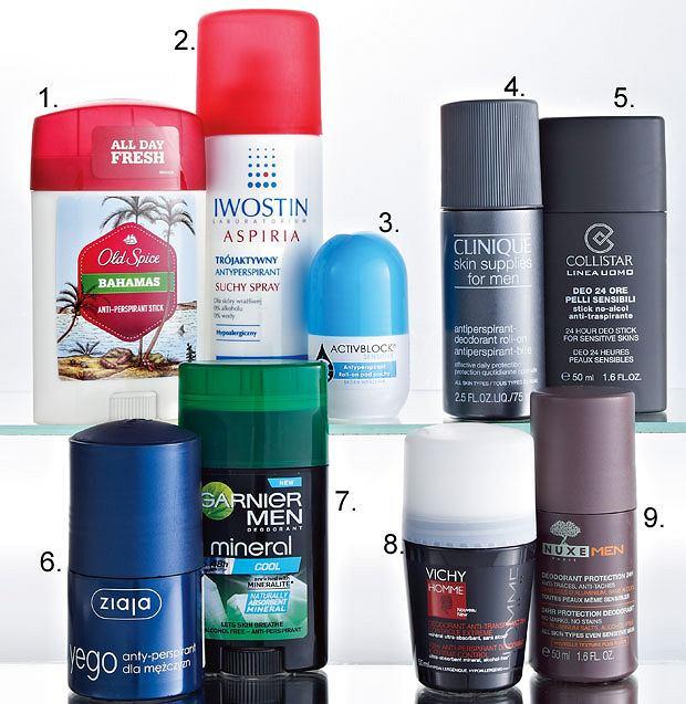 Kosmetyki: zablokuj pot