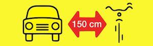 150cm dla Rowerzysty