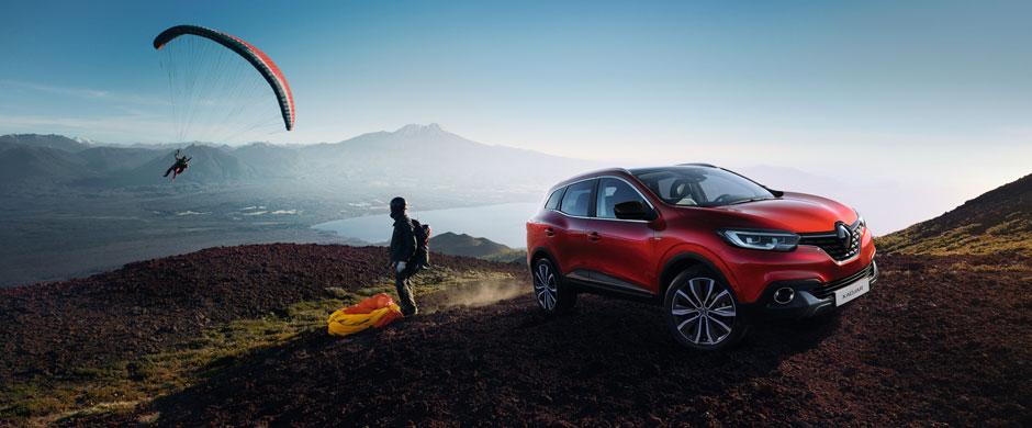 Renault KADJAR to autentyczny crossover, który pozwala poruszać się w każdym terenie. Dzięki zwiększonemu prześwitowi i dwóm trybom napędu ? 4x4 i 4x2 ? KADJAR sprawdzi się w każdych warunkach.