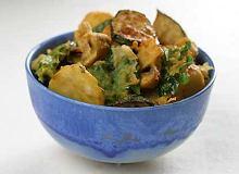 Pakora warzywa w cie�cie nale�nikowym - ugotuj