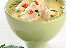 Zupa kokosowa z kurczakiem - ugotuj