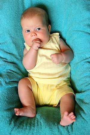 Wyra�nie wida� - to ju� nie noworodek.