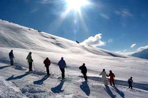 Alpy Trydenckie. Adamello Ski