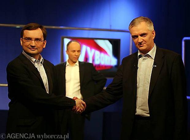 Zbigniew Ziobro i Jarosław Gowin