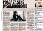 "Kr�tka historia ""pracy za seks"" w Samoobronie"