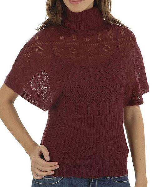 A�urowy sweterek