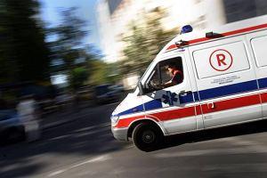 Ratownik zgin�� w wypadku karetki w Nowym Targu