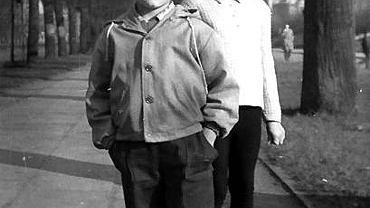 Rodzeństwo Sonia i Donald, Sopot, 1961 r.