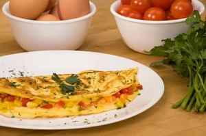 Omlet podstawowy z dowolnym dodatkiem