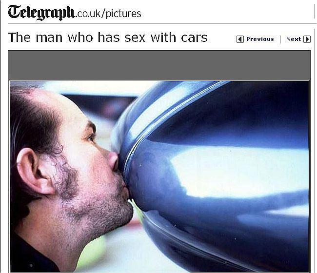 Edward Smith kocha samochody. Trochę za bardzo.
