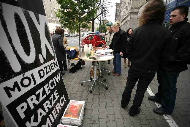 10 października obchodzony jest Europejski Dzień przeciwko Karze Śmierci