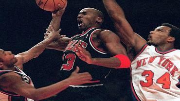 Michael Jordan w meczu Chicago Bulls (marzec 1998)