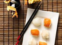 Kulki sushi z rybą maślaną, łososiem i tuńczykiem - ugotuj