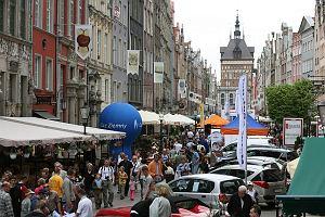 Motoshow na starówce w Gdańsku