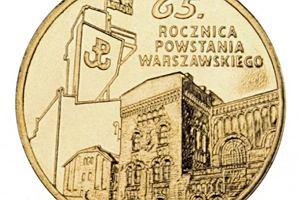 Powstanie Warszawskie na nowych monetach