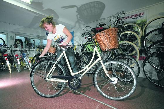 Katarzyna Maj ze sklepu rowerowego WygodnyRower.pl