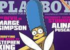"Marge Simpson kr�liczkiem ""Playboya"""