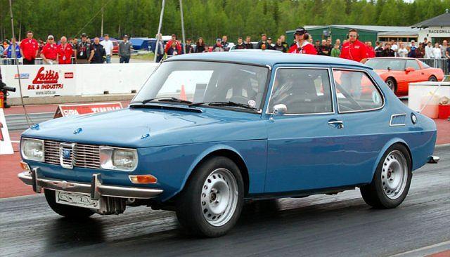 Piekielny, 700-konny Saab 99