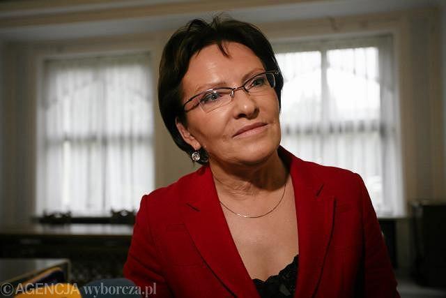 Europejska Agencja ds. Leków: słowa minister zdrowia Ewy Kopacz (zdjęcie) to populizm