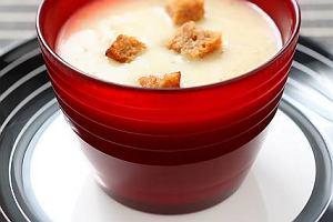 CREMA DI PATATE ALLA GRAPPA (Zupa krem z ziemniak�w z Grapp�)