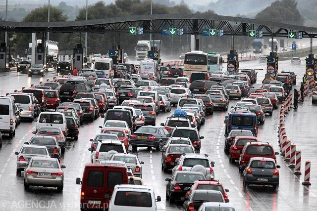 Punkt poboru opłat na autostradzie