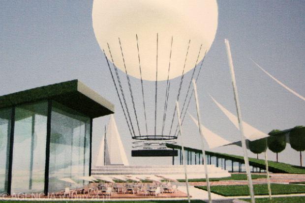 Balon z platformą widokową na Kępie Parnickiej. Autorzy: Marta Pukszta, Agnieszka Słupecka, Klaudia Wójcik, Agnieszka Dąbrowska, Alicja Świtalska
