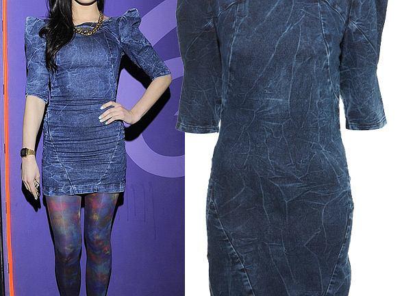 Marina Łuczenko w sukience Miss Selfridge